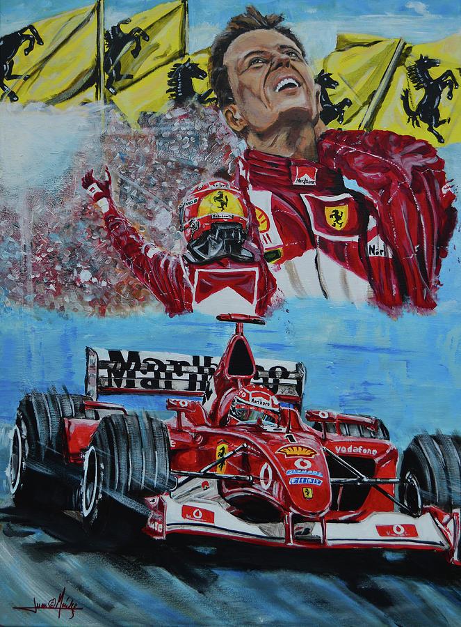 Schumacher Painting - Duc In Altum by Juan Mendez