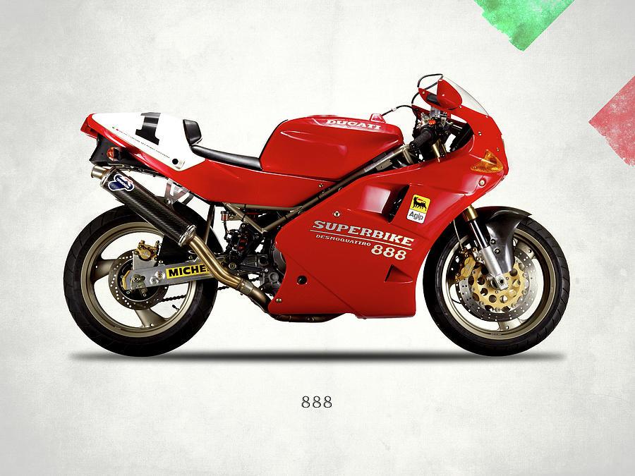 Ducati 888 Photograph by Mark Rogan