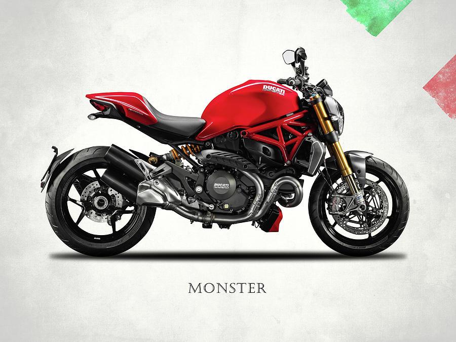 Ducati Monster Digital Art - Ducati Monster by Mark Rogan
