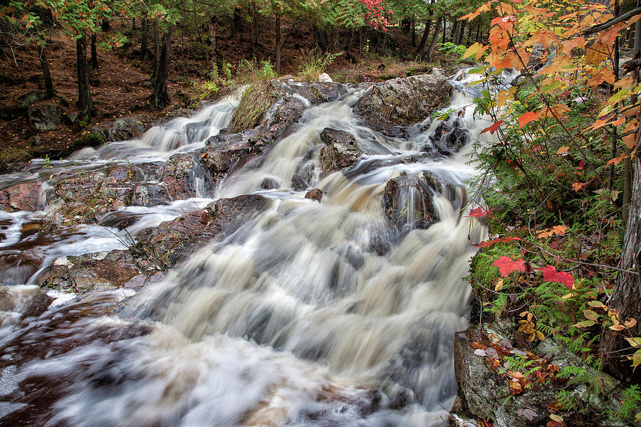 Waterfalls Photograph - Duchesnay Falls by Brian Boudreau
