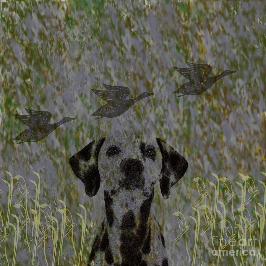 Duck Digital Art - Duck Hunter by Scott Hervieux