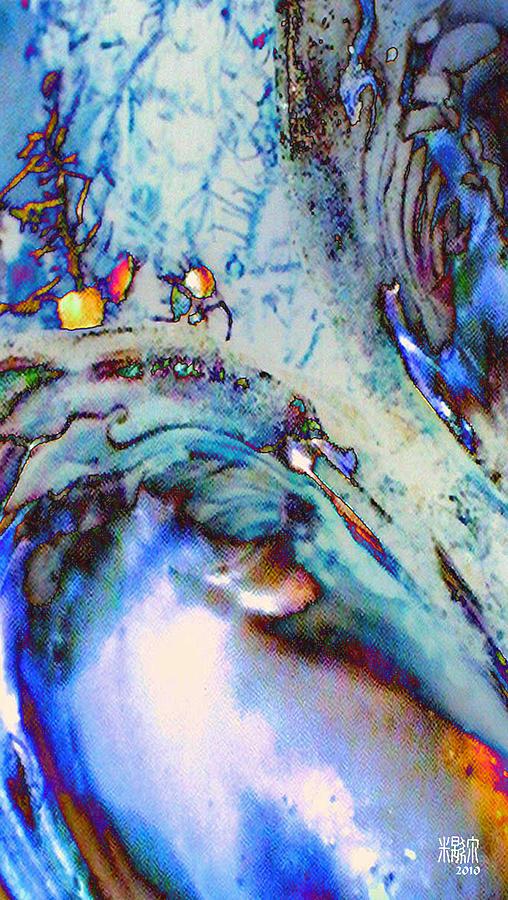 Microscopics Digital Art - Due Coperture by Michele Caporaso
