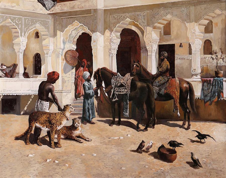 Due Ghepardi Painting