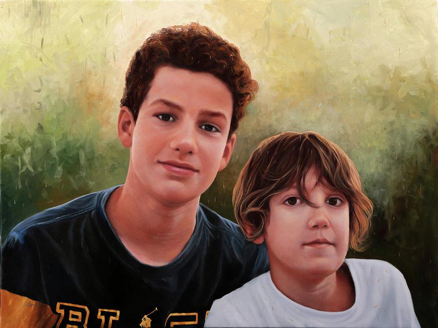 Due Ragazzi Painting