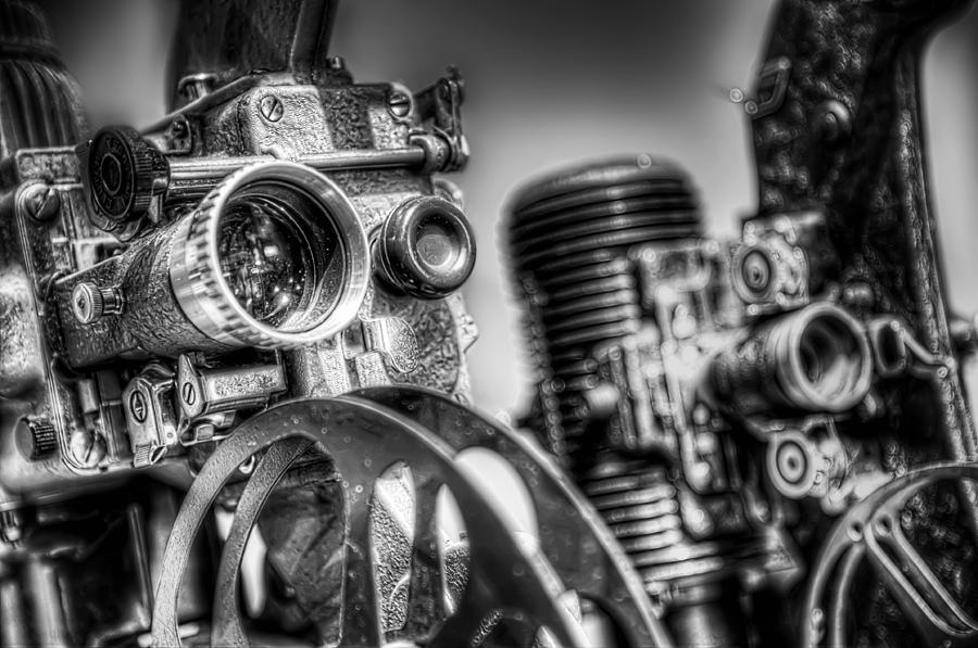 Film Photograph - Dueling Projectors by Scott Norris