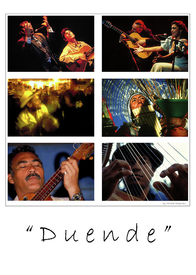 Music Photograph - Duende - Feeling by Michael Mogensen