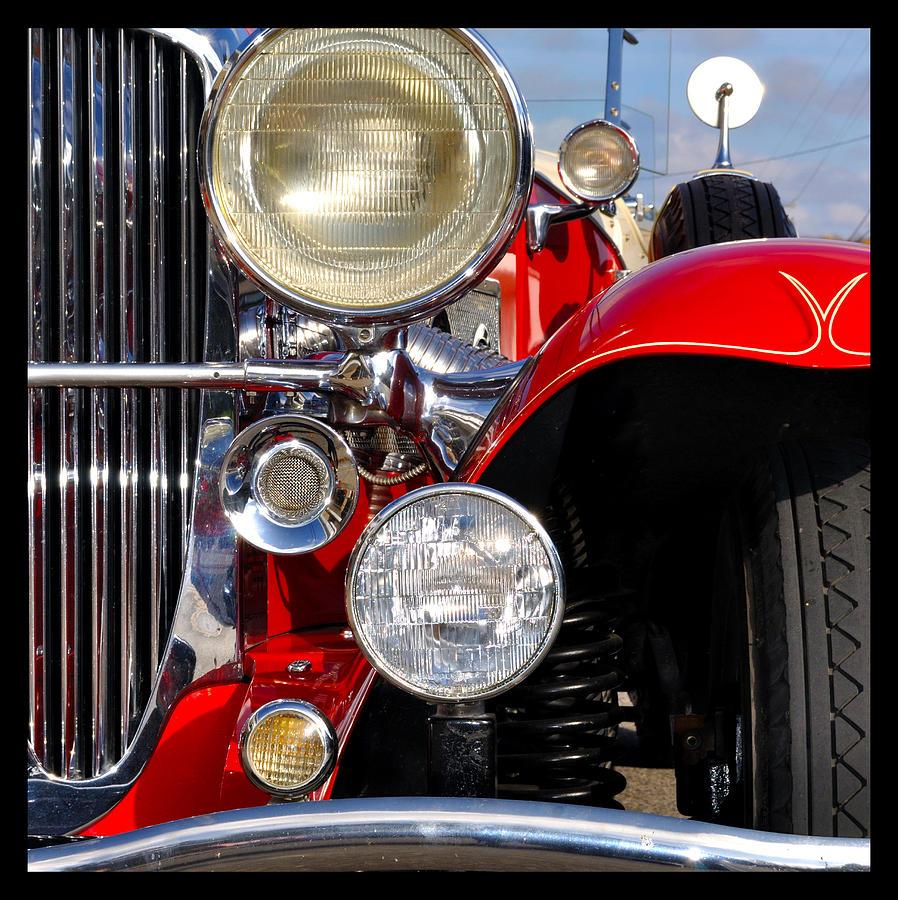 Car Photograph - Duesenberg by Tim Nyberg