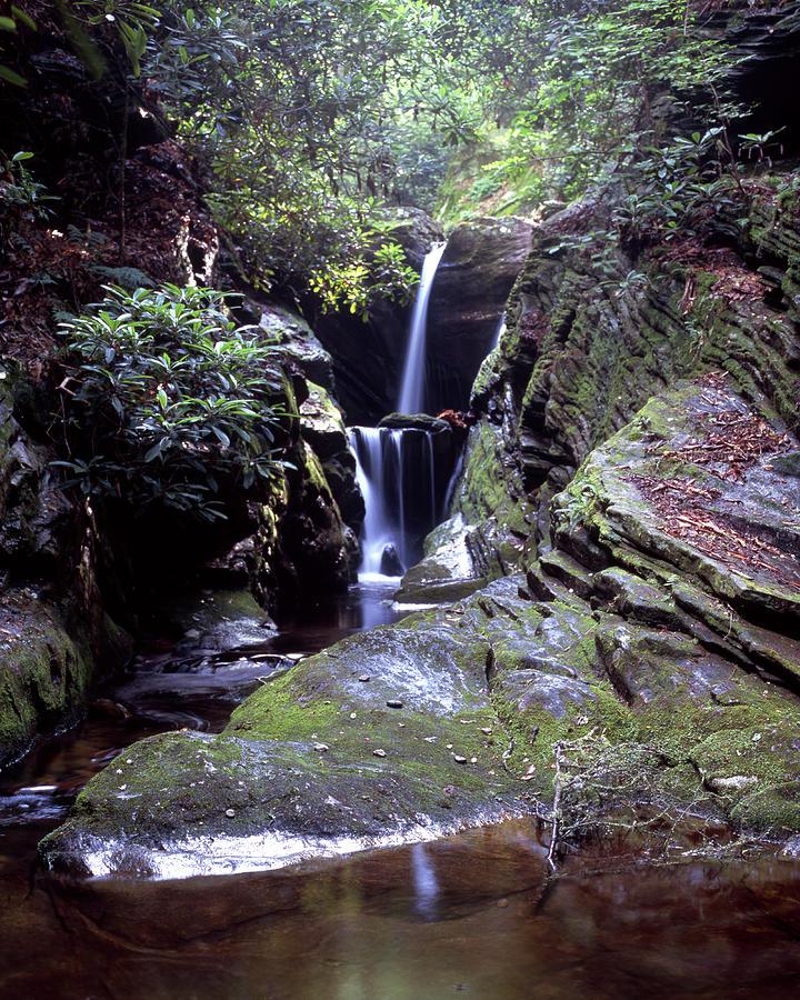 Waterfall Photograph - Duggers Creek Falls by J Langley