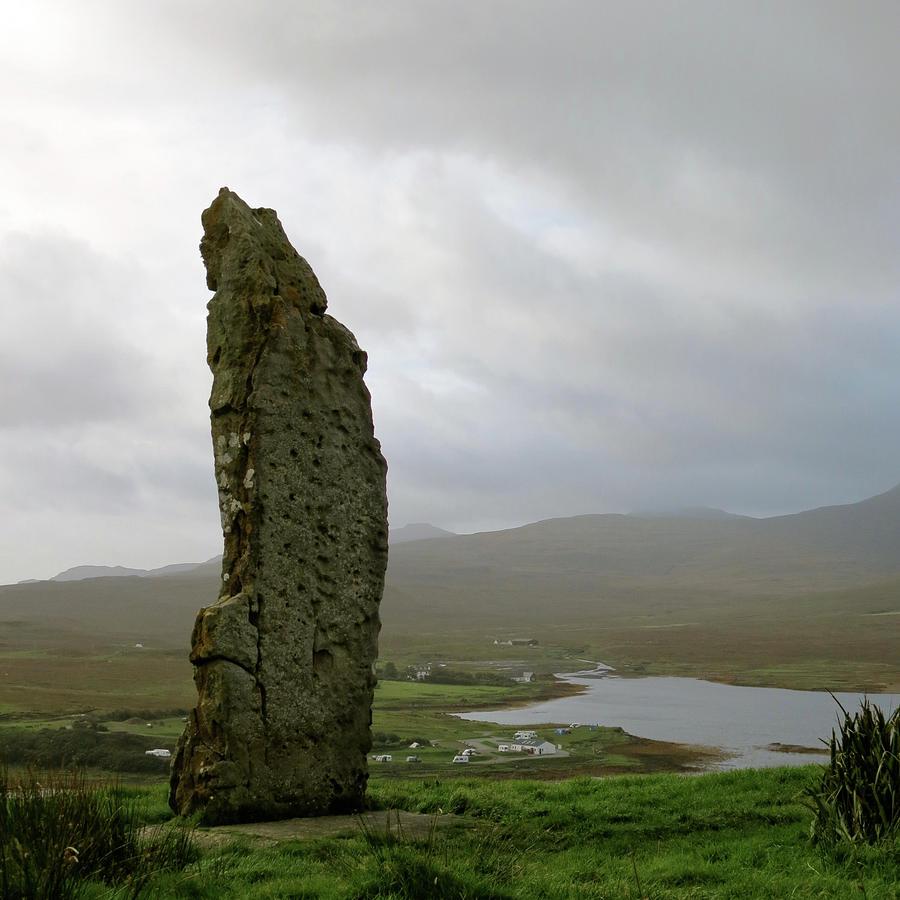 Scotland Photograph - Duirinish Stone by Azthet Photography
