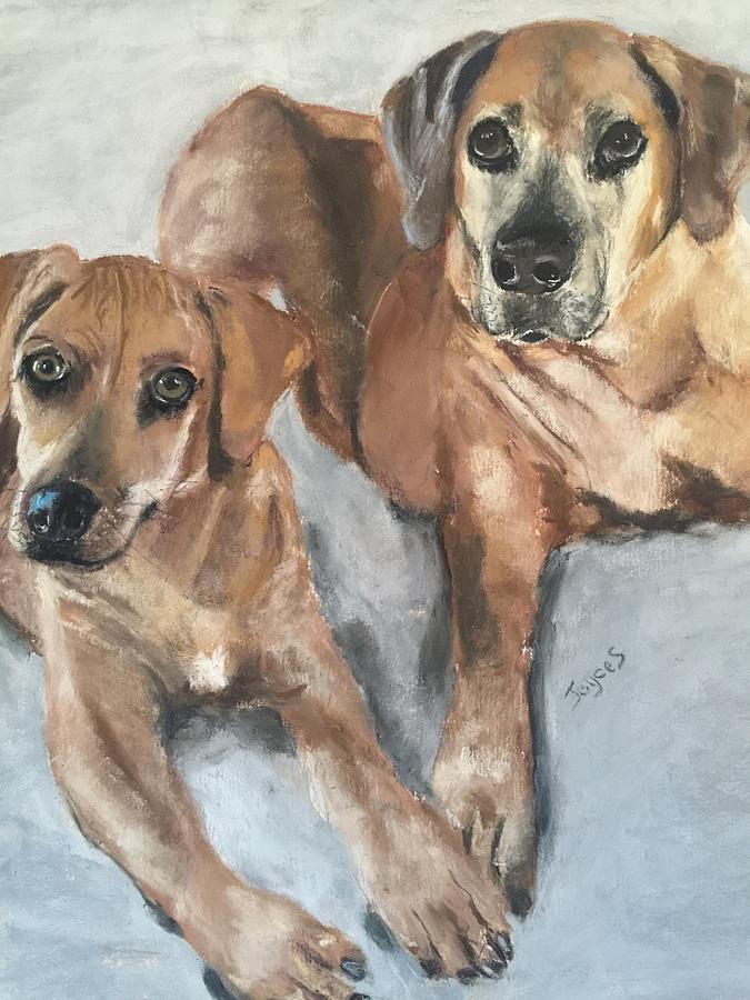 Duke and Hunter by Joyce Spencer