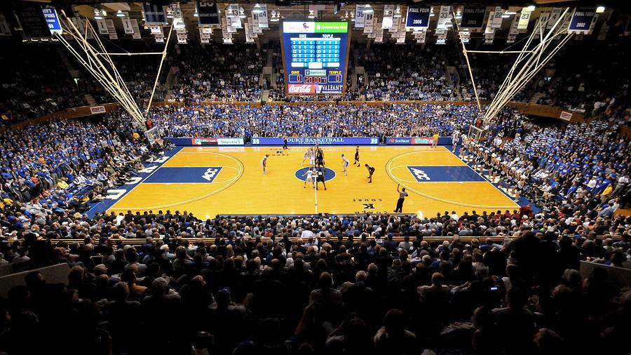 Duke Blue Devils Cameron Indoor Stadium Photograph by ...
