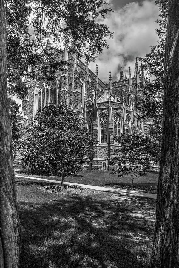 Duke Chapel bw by Dimitry Papkov