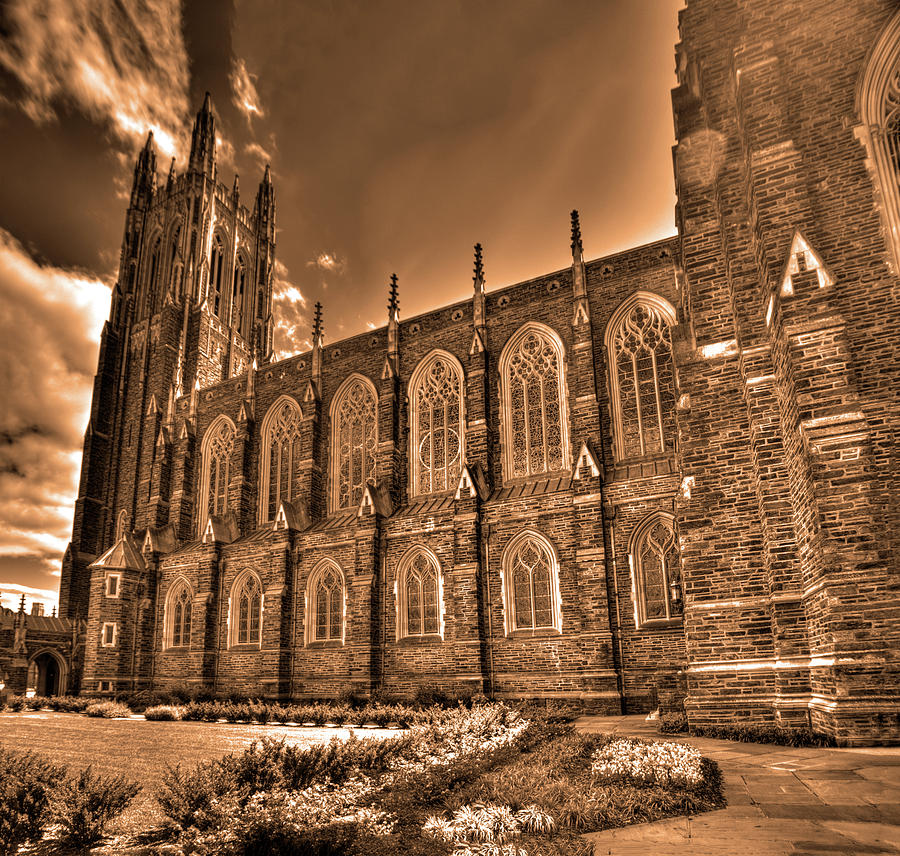 Duke Chapel sepia by Dimitry Papkov
