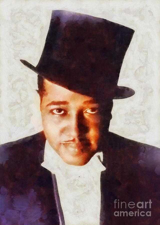 Duke Ellington, Musical Legend Painting