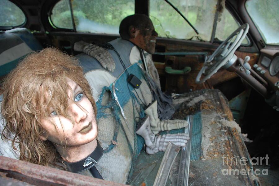 Dummies riding by Jim Goodman