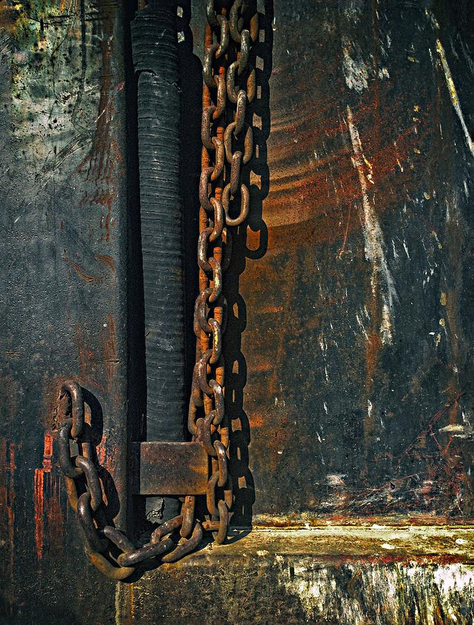 Dump Truck Chain Photograph by Andrew Wohl