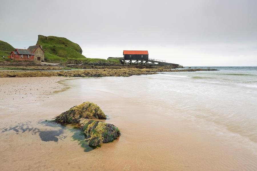 Sea Photograph - Dunaverty Bay by Grant Glendinning