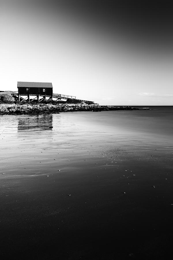 Southend Photograph - Dunaverty Boathouse by Grant Glendinning