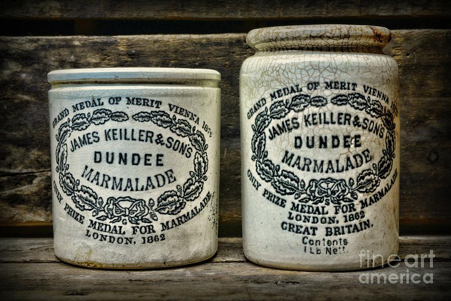 Paul Ward Photograph - Dundee Marmalade Country Kitchen  by Paul Ward