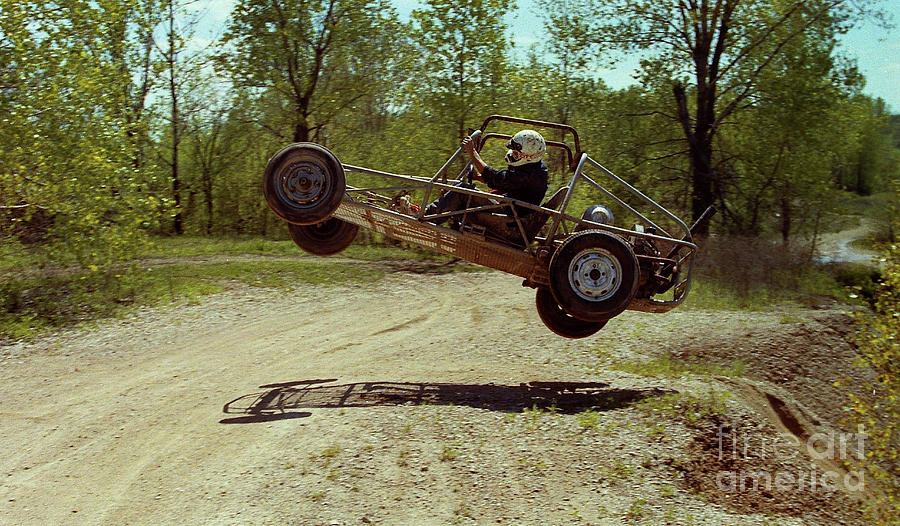 Dune Buggy Photograph - Dune Buggy-0412 by Gary Gingrich Galleries