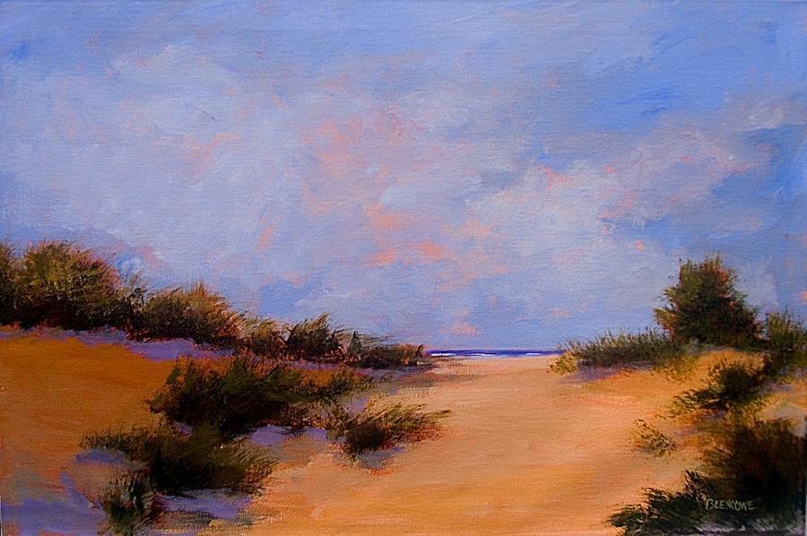 Beach Painting - Dune Drama by Jan Blencowe