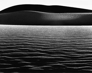 Dunes And Horizontal Ripples 1979 Photograph by John Wimberley