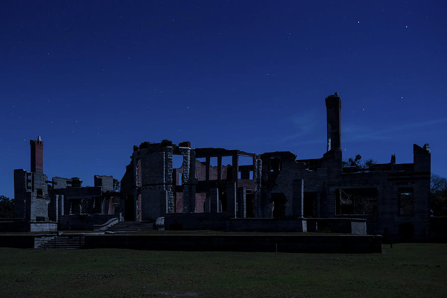 Dungeness by Moonlight II, Cumberland Island, Georgia by Dawna Moore Photography