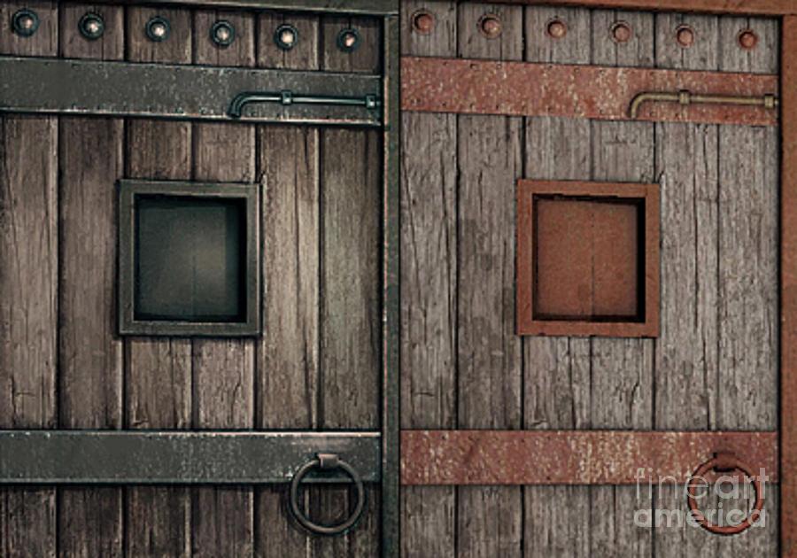 Dungeon Doors Photograph - Dungeon Doors by Rod Jellison & Dungeon Doors Photograph by Rod Jellison