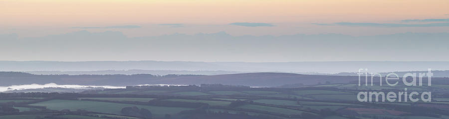 Dunkery Hill Morning  by Andy Myatt