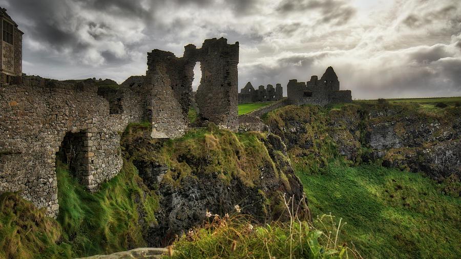 History Photograph - Dunluce Castle by Windy Corduroy