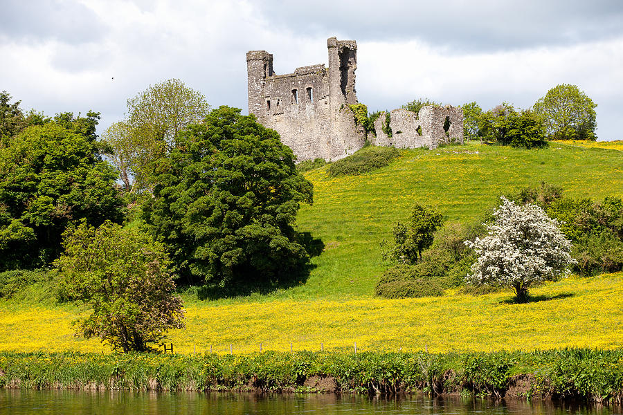 Dunmoe Castle Photograph by Peter McCabe