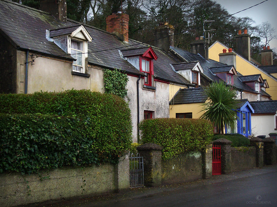 Ireland Photograph - Dunmore Houses by Tim Nyberg