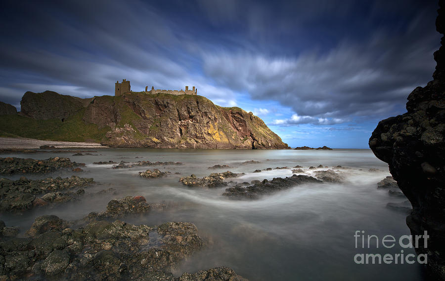 Castle Photograph - Dunnottar Castle by Roddy Atkinson