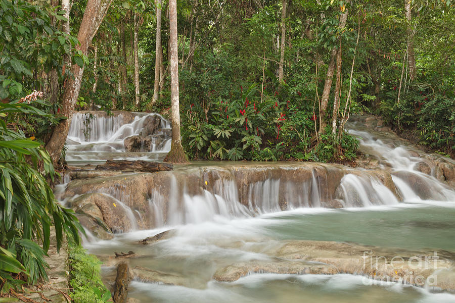 Dunn's River Falls - Another View by Charles Kozierok
