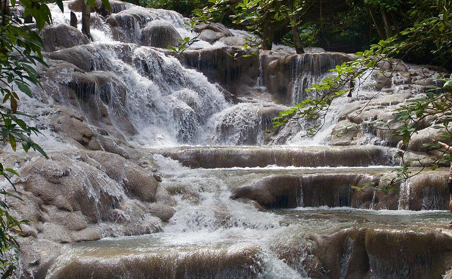 dunn s river falls photograph by scott gray