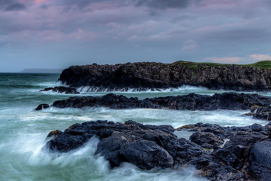 Rock Photograph - Dunseverick Harbour by Glen Sumner