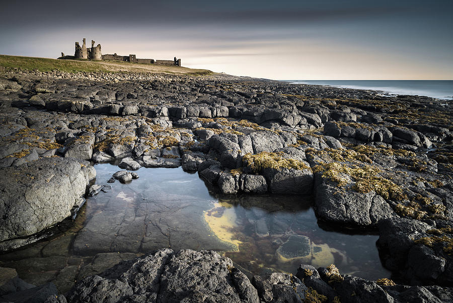 Dunstanburgh Castle Photograph - Dunstanburgh Castle by Dave Bowman