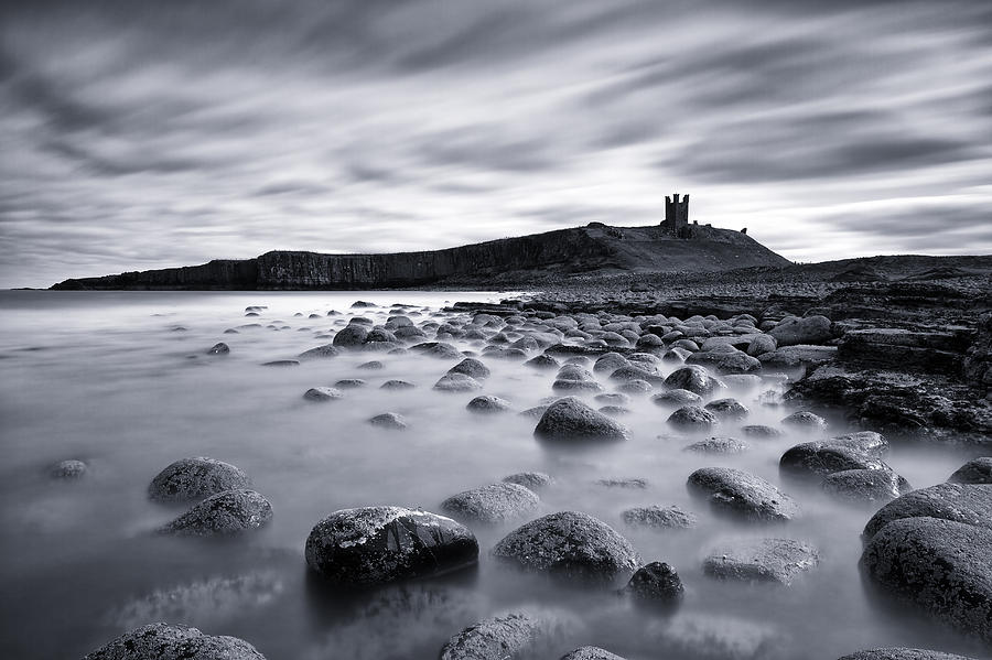 Attraction Photograph - Dunstanburgh Castle by Matthew Train