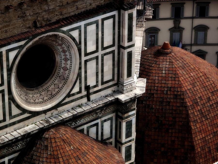 Duomo Photograph - Duomo Detail by Obi Martinez