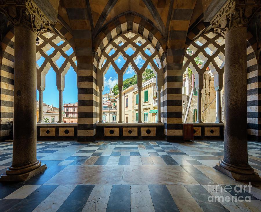 Amalfi Photograph - Duomo Di Amalfi by Inge Johnsson