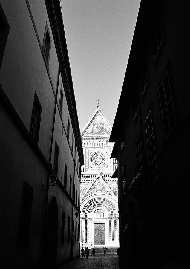 Black And White Photograph - Duomo II by Artecco Fine Art Photography