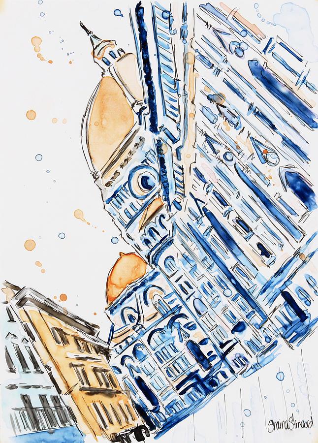 Florence Painting - Duomo by Shaina Stinard
