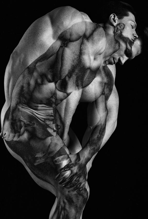 Figure Study Photograph - Duplicity by Thomas Mitchell