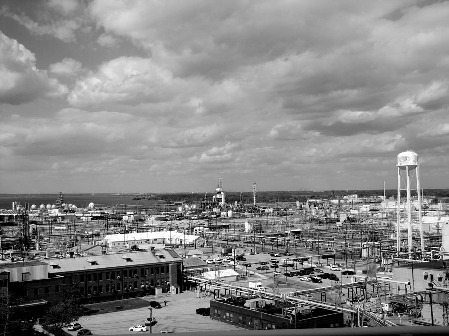 Factory Photograph - Dupont by Lisa Jayne Konopka