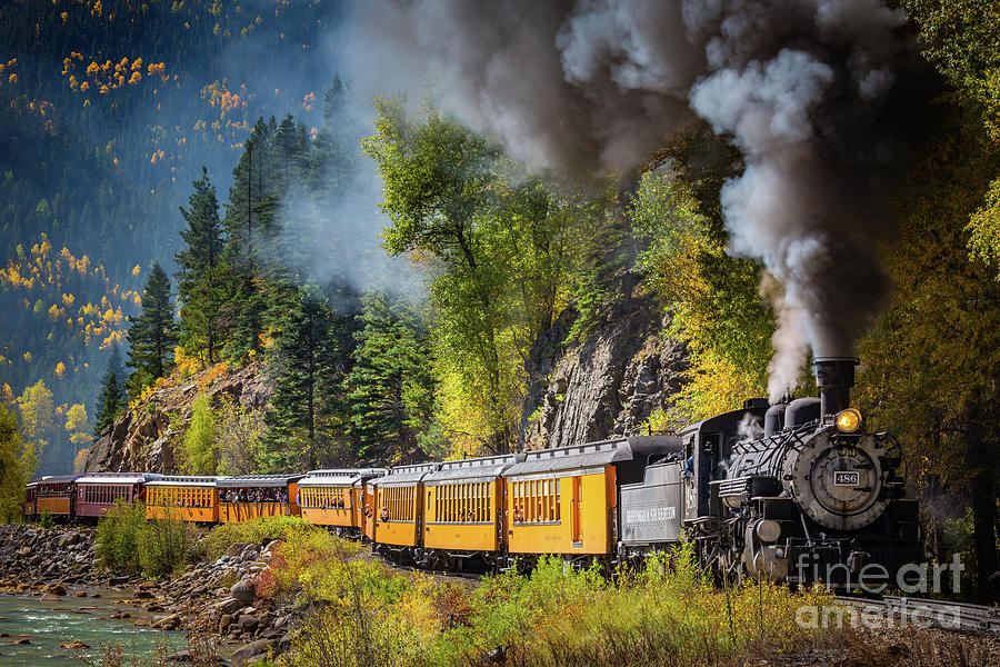 Durango-silverton Narrow Gauge Railroad Photograph