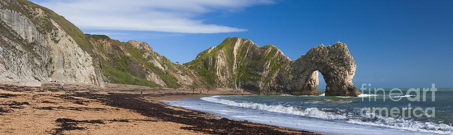 Nikon Photograph - Durdle Door Dorset Uk by Donald Davis