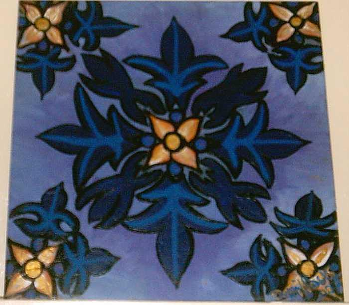 Durkan Pattern Painting by Darnillious Designs