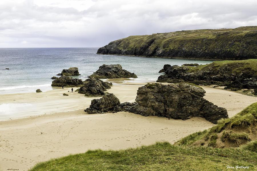 Beach Photograph - Durness Beach by Fran Gallogly