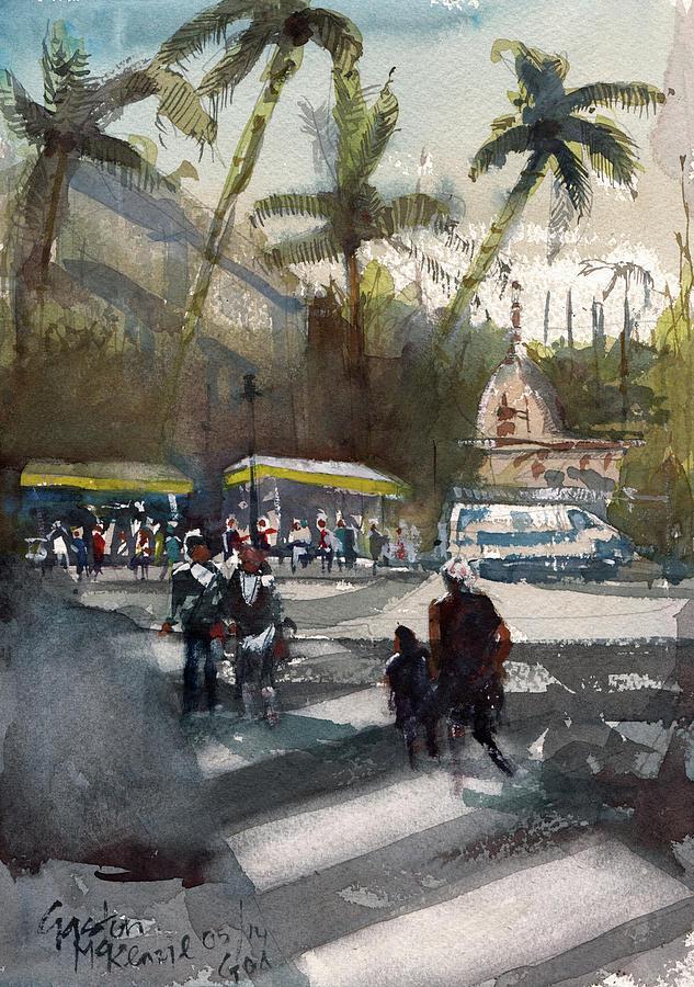 Dusk in Goa  by Gaston McKenzie