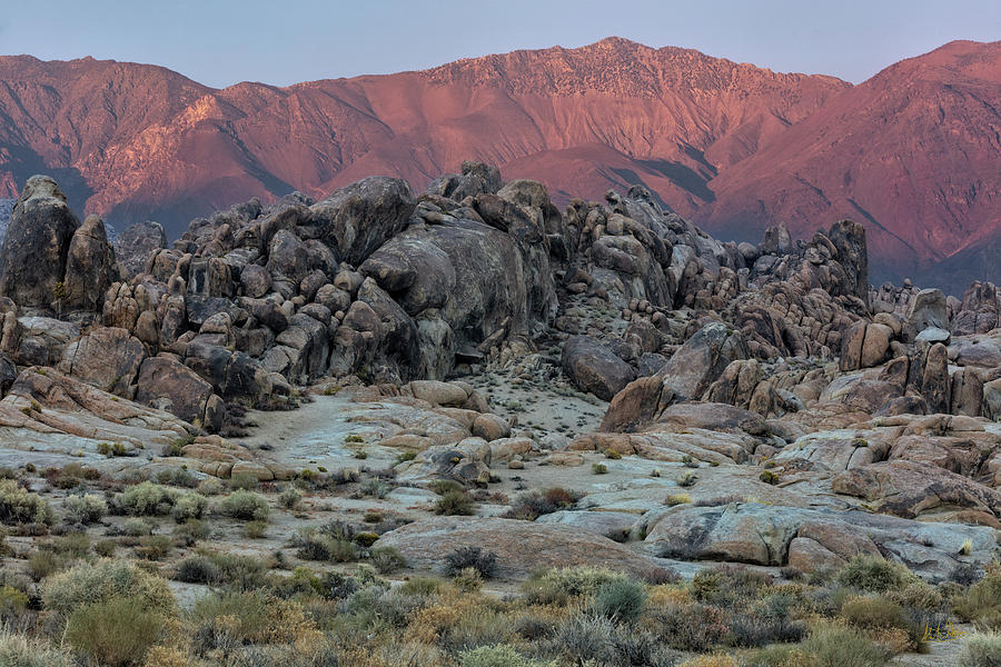 Dusk In The Alabama Hills by Stuart Gordon